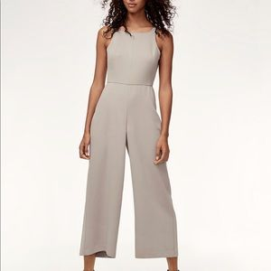 Aritzia Ecoulement Jumpsuit color: Ashen